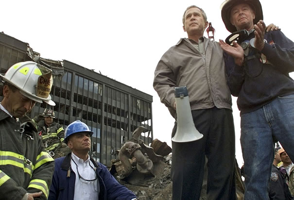 bush ground zero