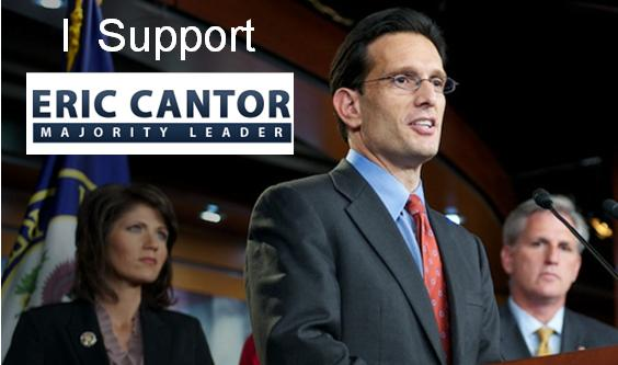 support eric cantor