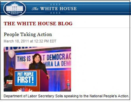 solis white house blog
