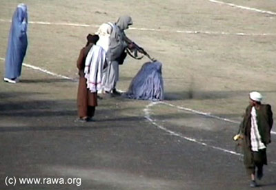 taliban women shooting