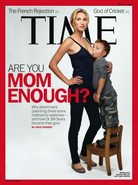 Failure To Wean… Liberal TIME Magazine Gives Us The Image Of Our