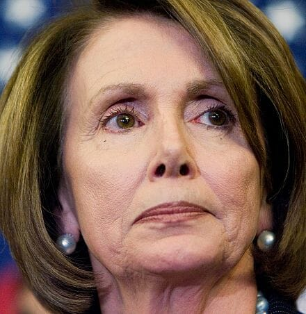 "Nancy Pelosi at Illegal Immigrant Holding Facility ""We're All Americans"" (Video)"