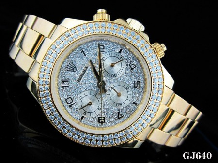 rolex diamonds