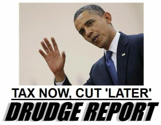 tax now cut later