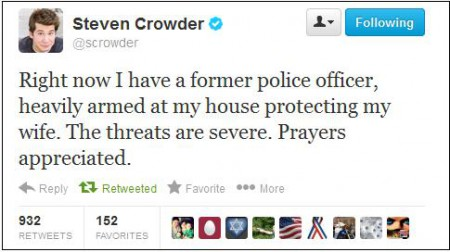 crowder wife