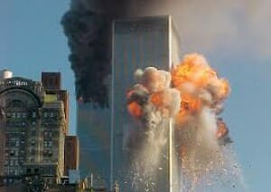 9-11 towers hit