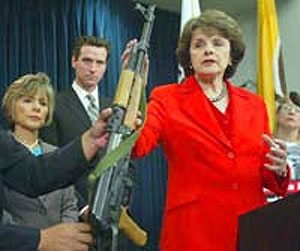 feinstein guns show