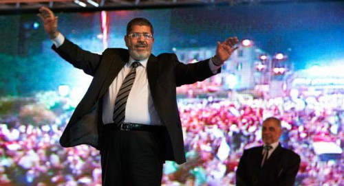 morsi at rally