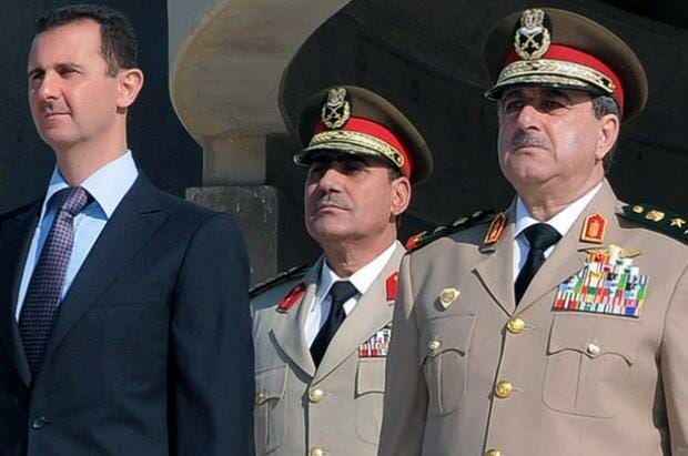 assad guards