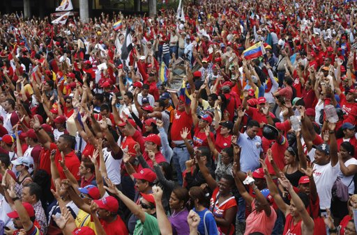 capriles election rally