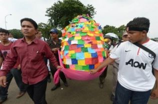 easter egg indonesia