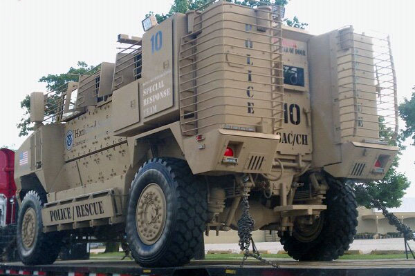 homeland security mrap
