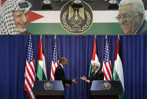 obama west bank arafat