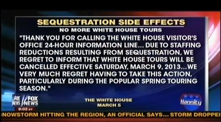 sequestration tours