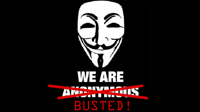 AnonymousBusted