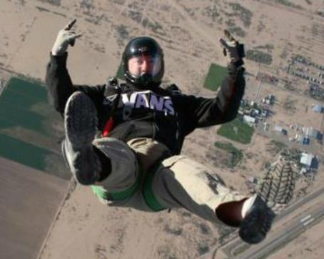 eddie skydiving