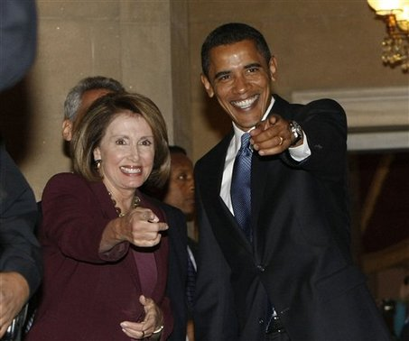Barack Obama, Nancy Pelosi