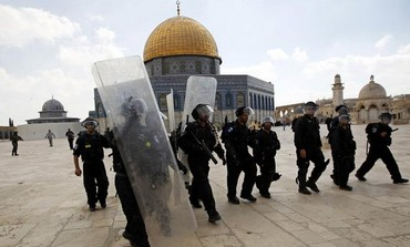 temple mount stoning