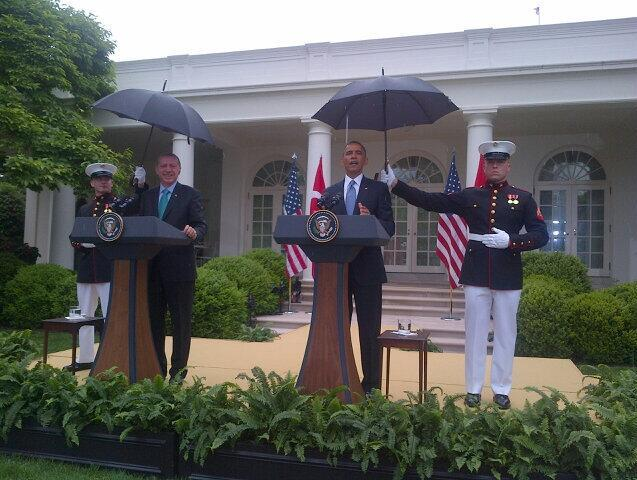 barack umbrella
