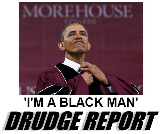 black man drudge