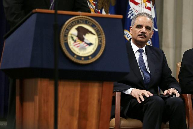 "Eric Holder Speaks At Justice Department ""Law Day"" Event"