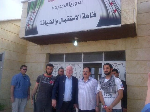 mccain syria kidnappers