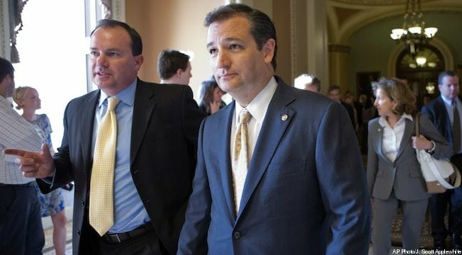 Ted Cruz, Mike Lee