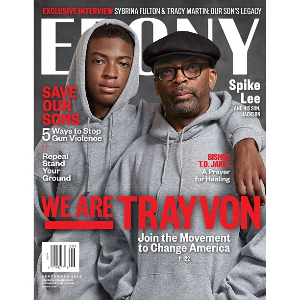 spike lee trayvon ebony