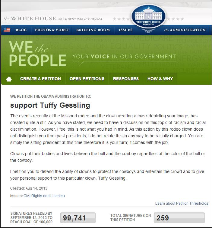 tuffy gessling petition