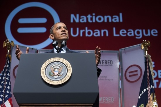 urban league obama