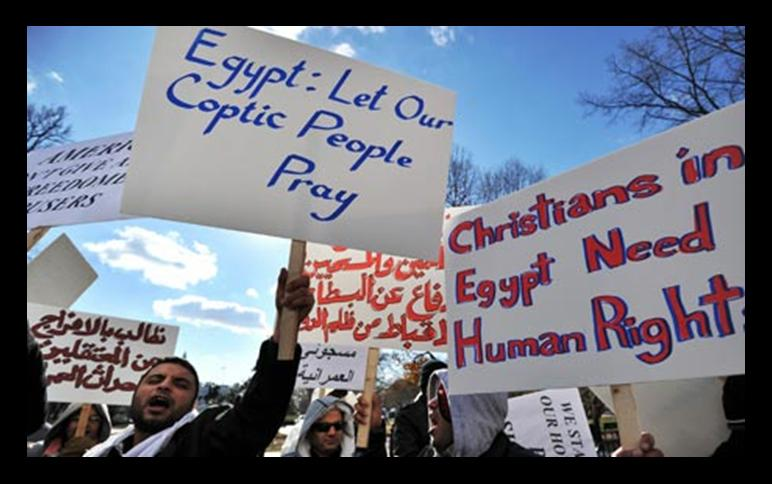 christians egypt persecuted
