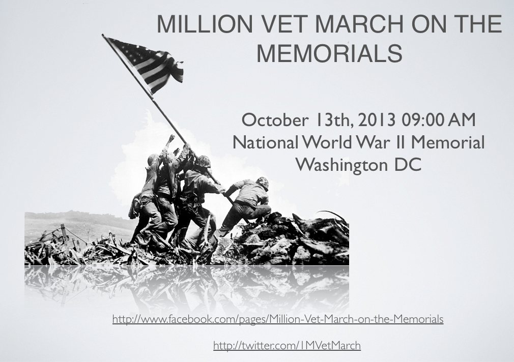 million man veteran march