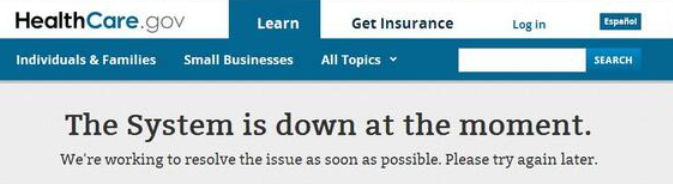 obamacare down moment