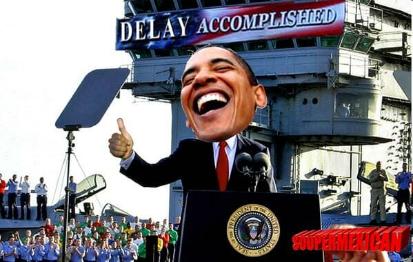 delay accomplished