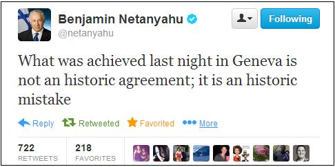 netanyahu nuke agreement