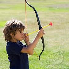 bow and arrow kid