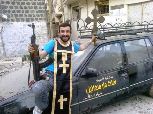 jihadi looting church