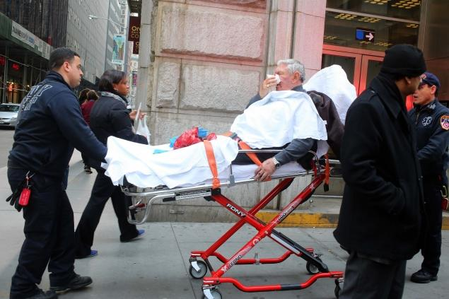 man nypd knockout