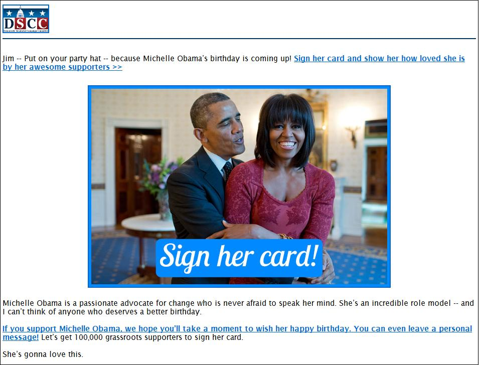 michelle obama birthday