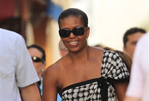 michelle obama vacation