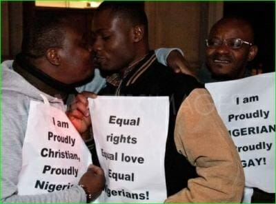 nigeria gay protest