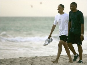 Obama-with-Reggie-Love-300x225