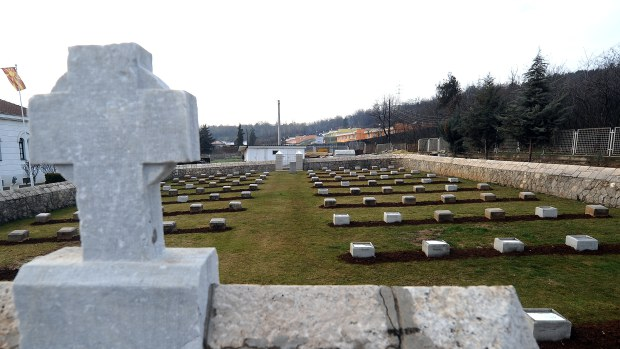 MACEDONIA-HISTORY-WAR-WWI-CENTENARY-BRITISH-CEMETARY