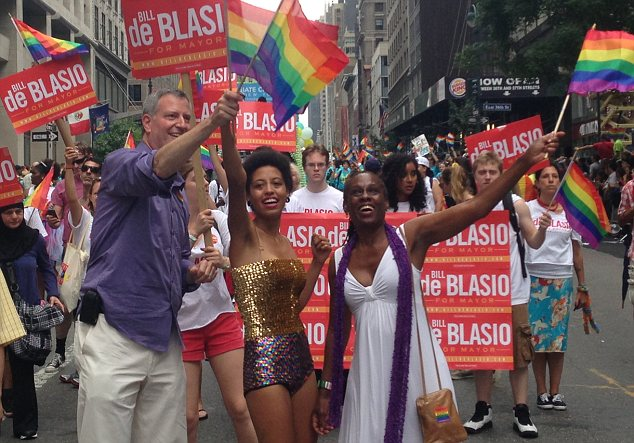 deblasio gay parade