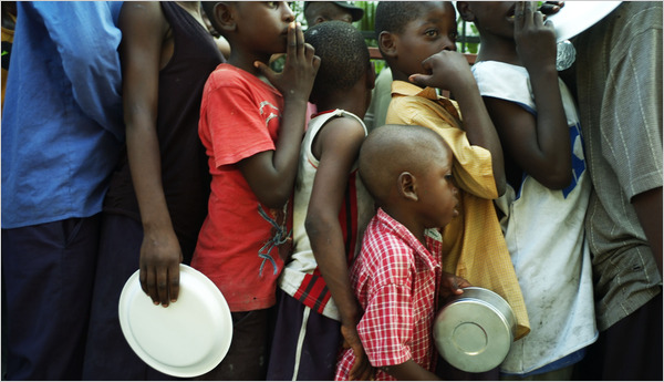 haiti children hungry