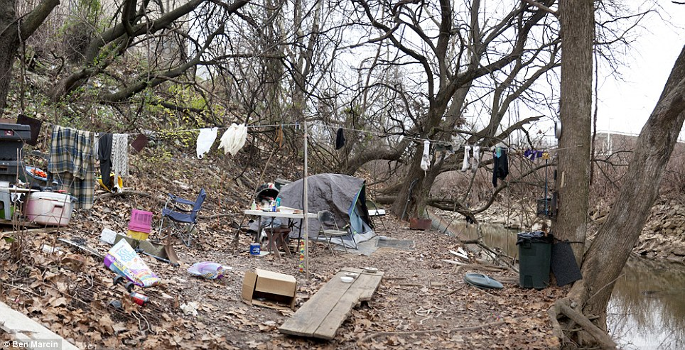 homeless camps