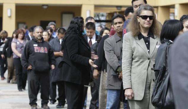 unemployment jobs line