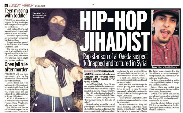 hip hop jihadist