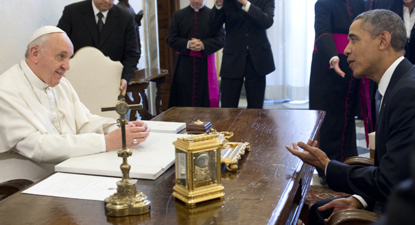 VATICAN-US-OBAMA-POPE
