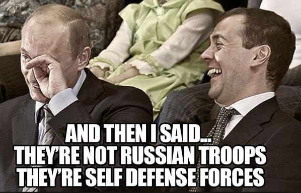 putin laughing hah